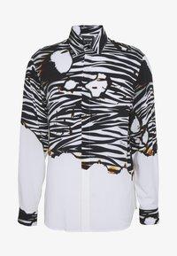 Just Cavalli - ZEBRA SHIRT - Košile - white - 4