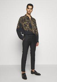 Just Cavalli - LEOPARD PRINT - Shirt - black - 1