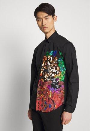 SHIRT COLOR PRINT - Hemd - black