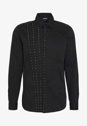 SHIRT STUD TAPING - Overhemd - black