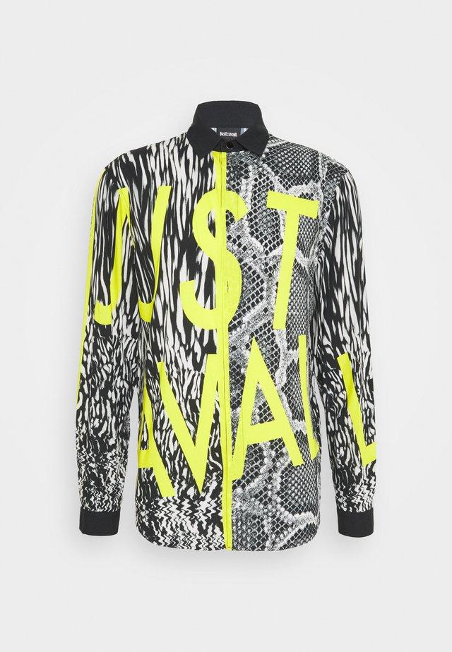 CAMICIA - Skjorter - light yellow/black