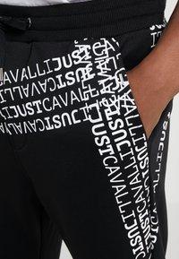 Just Cavalli - Pantalones deportivos - black - 3