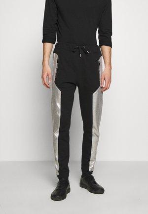 PANTS - Pantaloni sportivi - black/silver