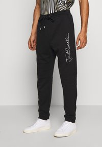Just Cavalli - PANTS - Pantaloni sportivi - black - 0