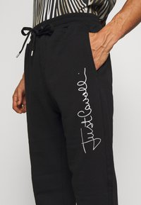 Just Cavalli - PANTS - Pantaloni sportivi - black - 3