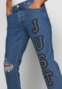 Just Cavalli - PANTS 5 POCKETS LOGO - Jeans slim fit - blue denim - 3