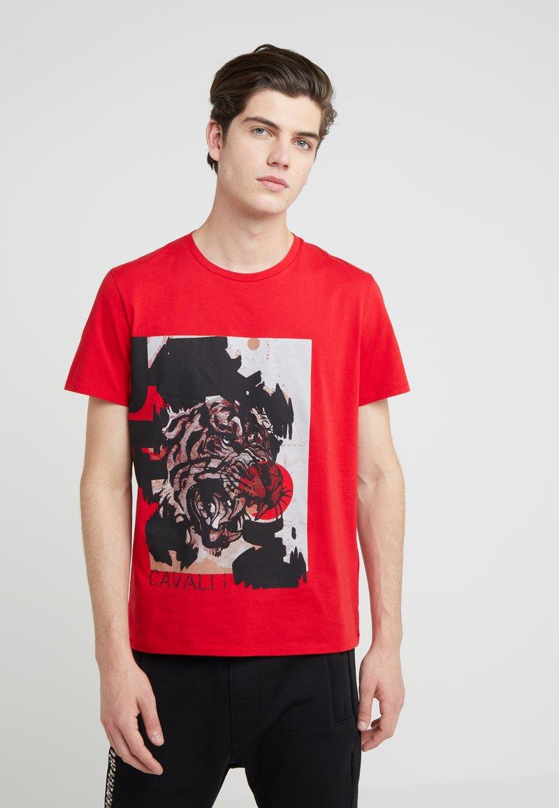 Just Cavalli - Camiseta estampada - red