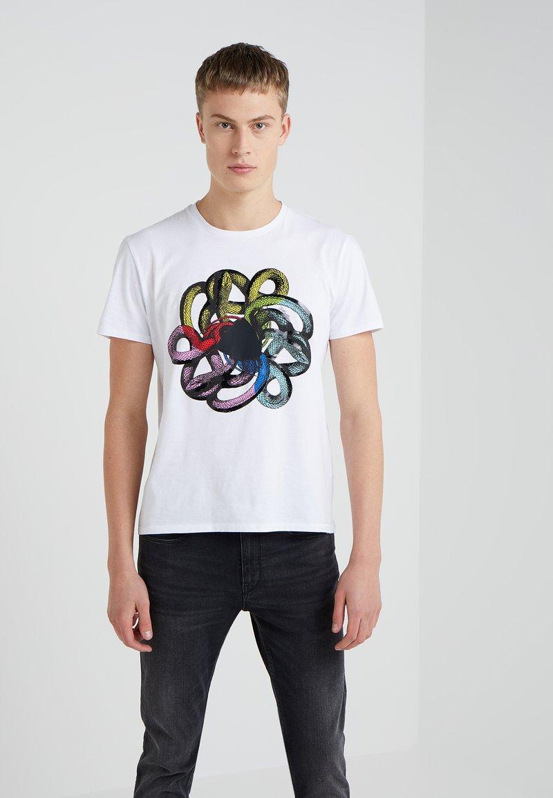 Just Cavalli - T-shirt print - white