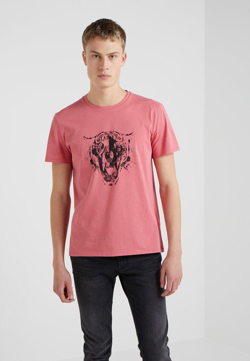 Just Cavalli - Print T-shirt - rose