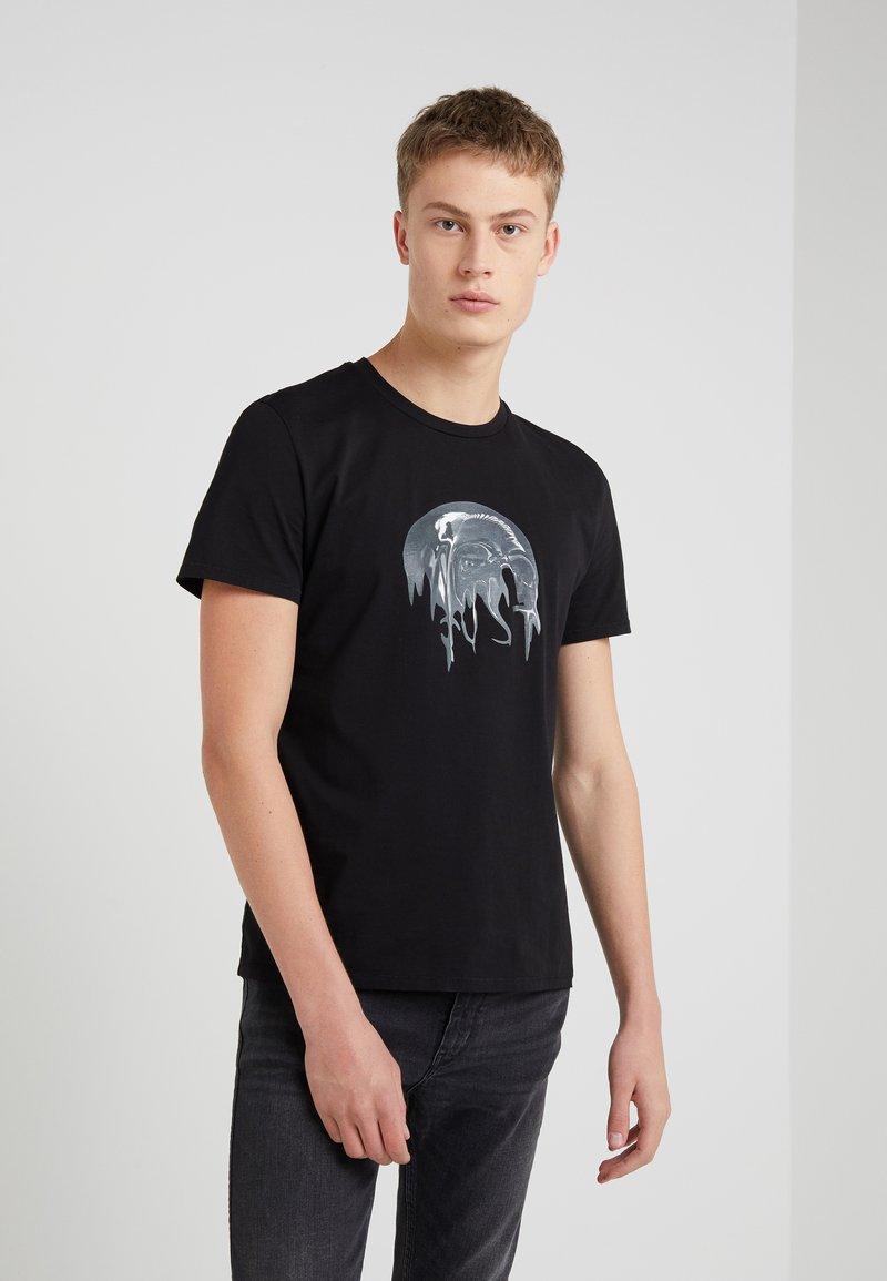 Just Cavalli - Camiseta estampada - black