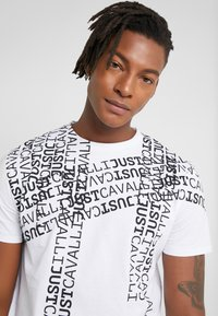 Just Cavalli - T-shirt med print - white - 3