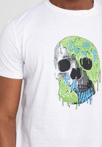 Just Cavalli - T-shirt med print - white - 5