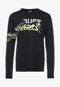 Just Cavalli - Maglietta a manica lunga - black - 3