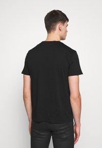 Just Cavalli - EMBELLISHED - Print T-shirt - black - 2