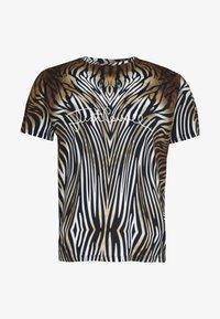 Just Cavalli - ANIMAL - T-shirt con stampa - black/brown - 4