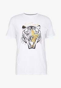 Just Cavalli - TIGER  - T-Shirt print - white - 4