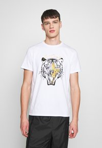 Just Cavalli - TIGER  - T-Shirt print - white - 0