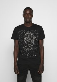 Just Cavalli - T-shirt con stampa - black - 0
