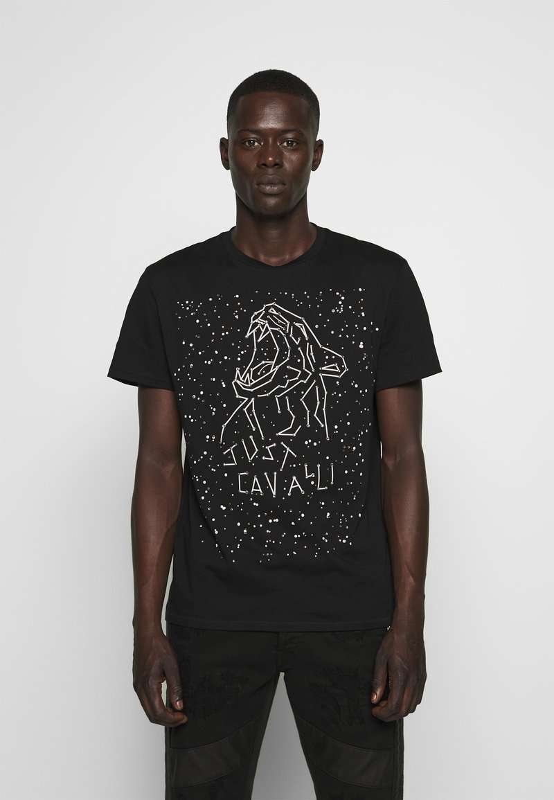 Just Cavalli - T-shirt con stampa - black