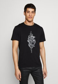 Just Cavalli - SNAKE - T-shirt con stampa - black - 0