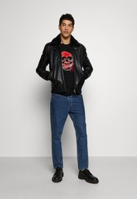 Just Cavalli - SKULL - T-shirt con stampa - black - 1
