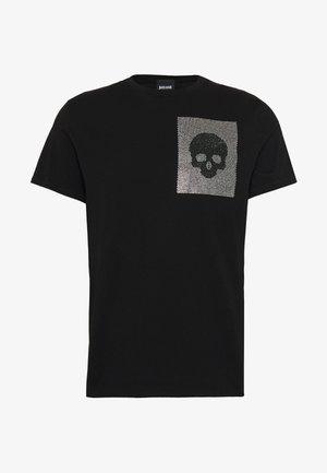 SPARKLY SKULL - T-shirt con stampa - black