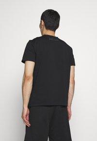 Just Cavalli - SPARKLY TIGER - Print T-shirt - black - 2