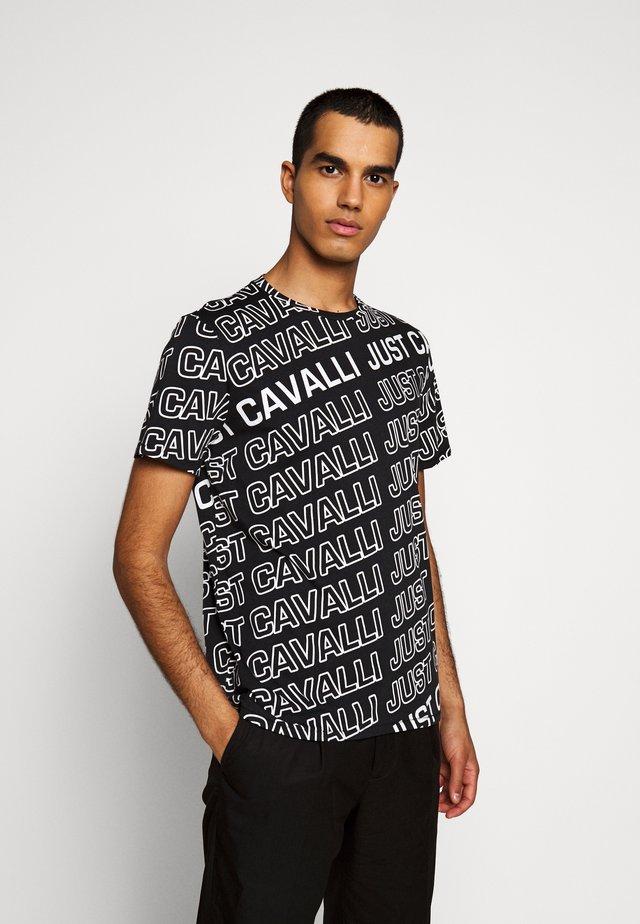 T-shirts med print - black variant