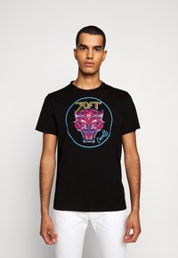 Just Cavalli - T-shirt con stampa - black - 0