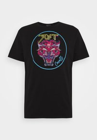 Just Cavalli - T-shirt con stampa - black - 4