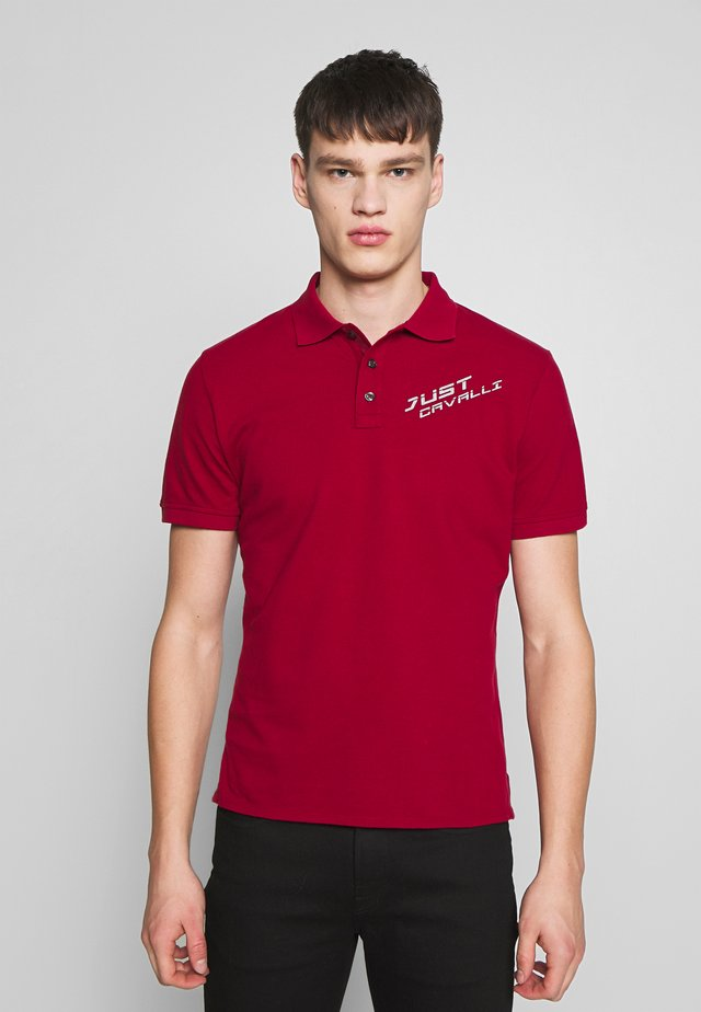 LOGO - Poloshirt - red