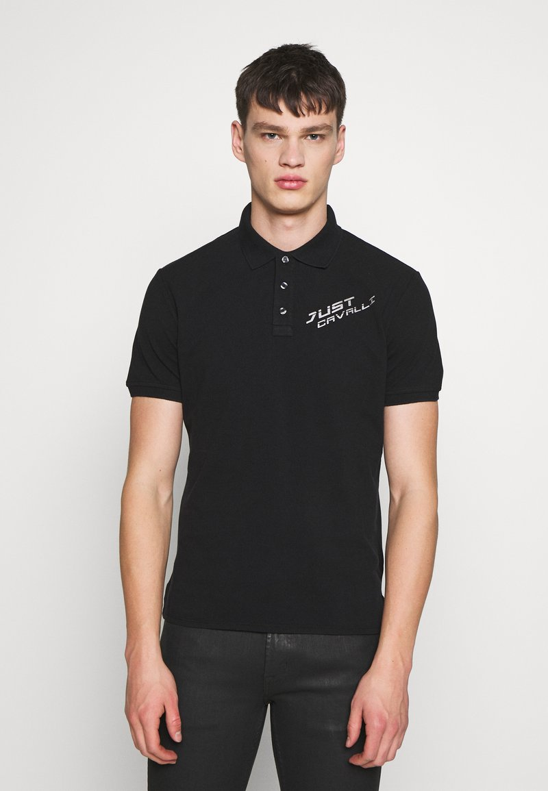 Just Cavalli - LOGO - Polo shirt - black