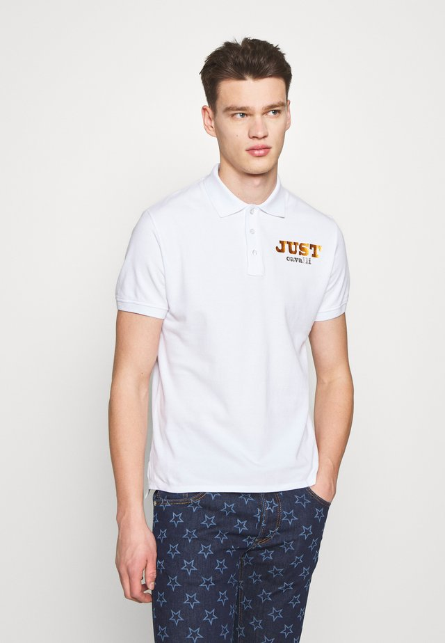 LOGO - Polo shirt - white