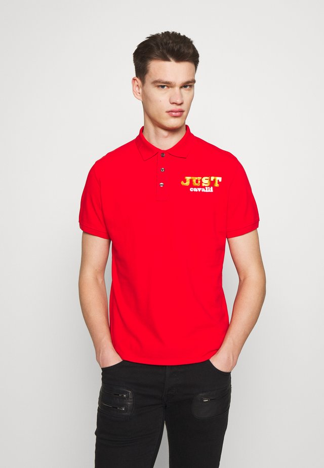 LOGO - Polo shirt - red