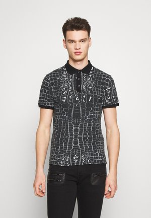 ANIMAL PRINT - Koszulka polo - black