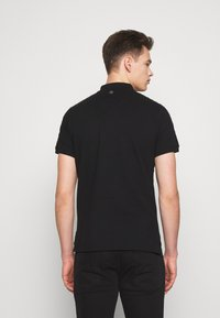Just Cavalli - SIDE TAPING - Polo shirt - black - 2