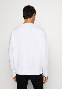 Just Cavalli - BURN LOGO - Felpa - white