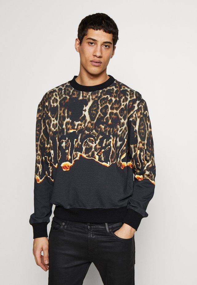 LEOPARD PRINT - Sweatshirt - black
