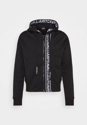 FELPA CON ZIP - Collegetakki - black