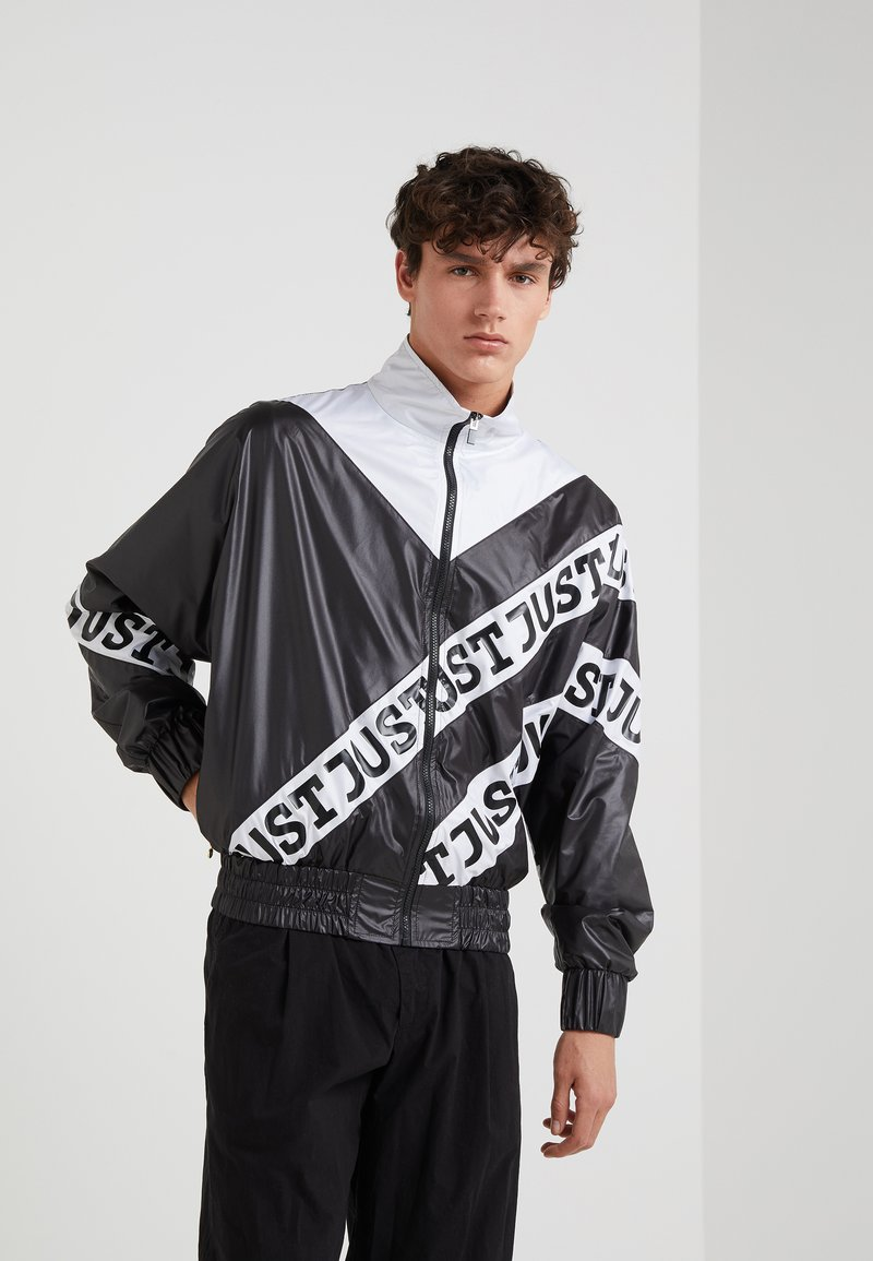 Just Cavalli - SPORTSJACKET - Summer jacket - black