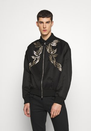 SPORTSJACKET EMBELLISHED  - Bomberjacks - black