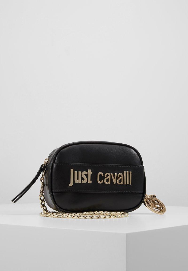 Just Cavalli - Taška spříčným popruhem - black