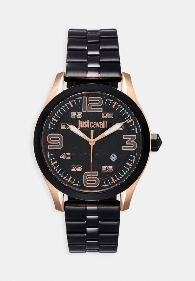YOUNG - Watch - black/anthracite