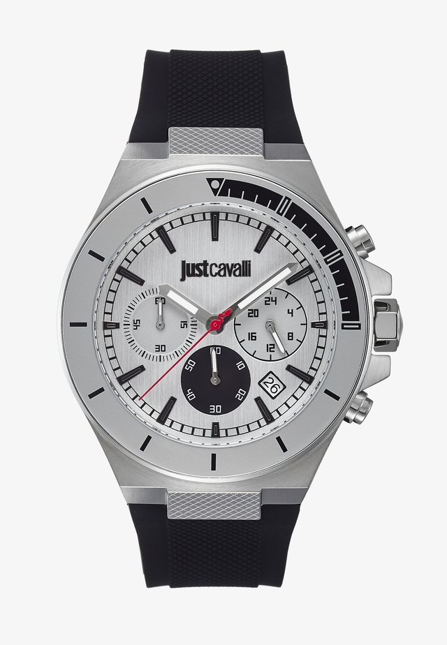SPORT - Chronograph - black/silver-coloured