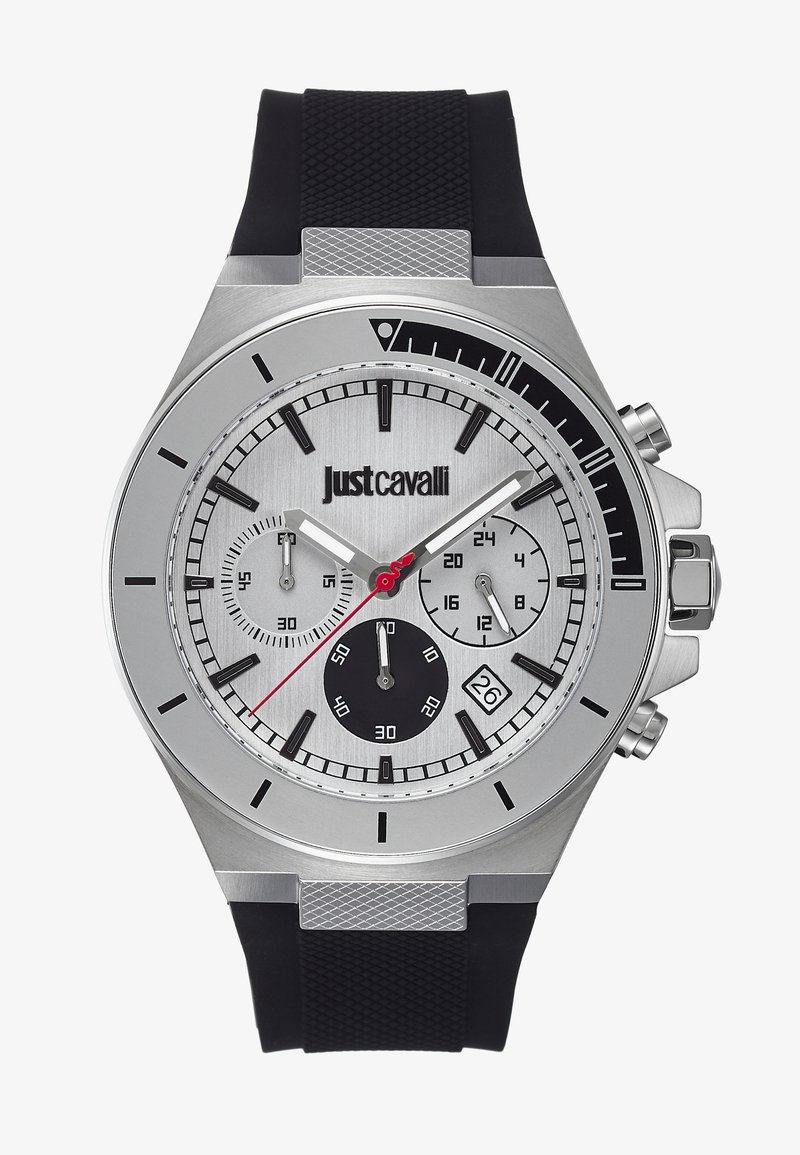 Just Cavalli - SPORT - Chronograph watch - black/silver-coloured