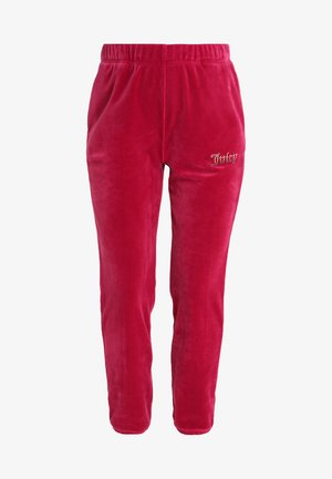 OMBRE STUDS LUXE PANT - Jogginghose - raspberry pink