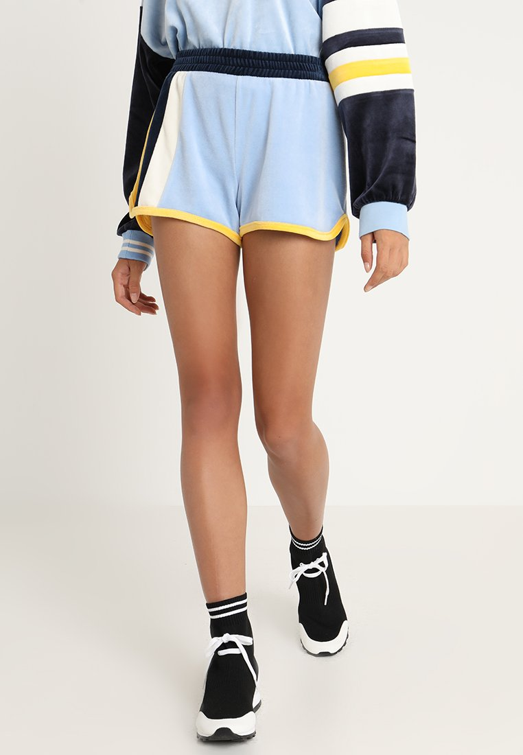 Juicy Couture - COLOURBLOCKED LIGHTWEIGHT - Shorts - blue chill