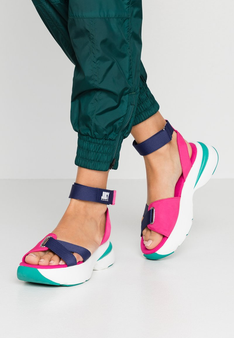 Juicy by Juicy Couture - BENEDETTE - Plateausandalette - mutlicolor