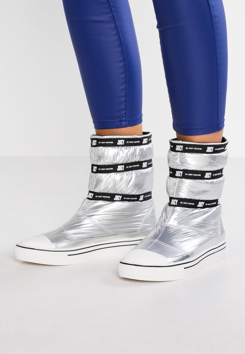 Juicy by Juicy Couture - CALINDA - Classic ankle boots - silver/pitch black