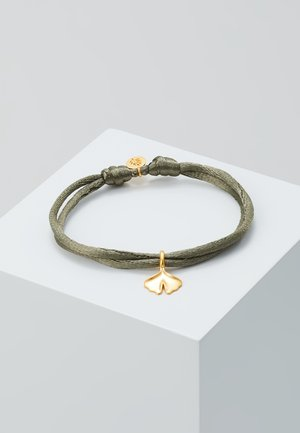 GINKGO BRACELET - Armband - khaki/gold-coloured